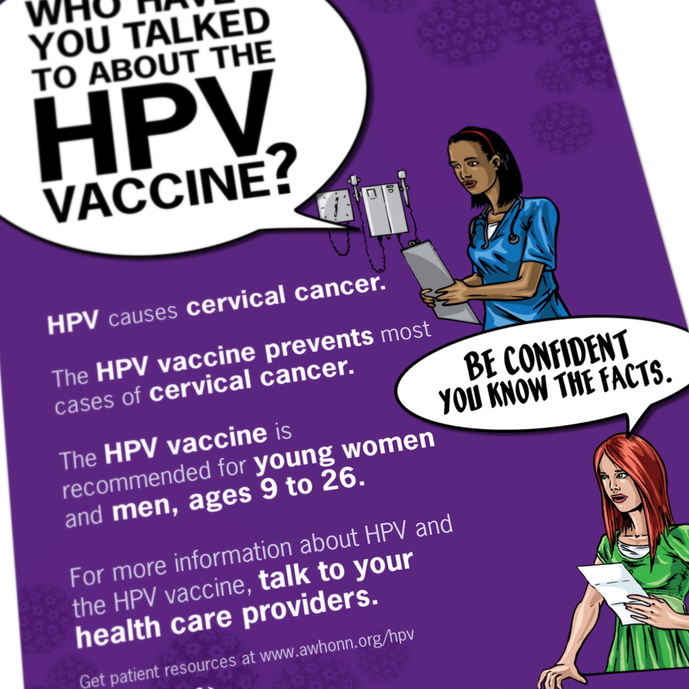 HPV Vaccination Campaign Poster