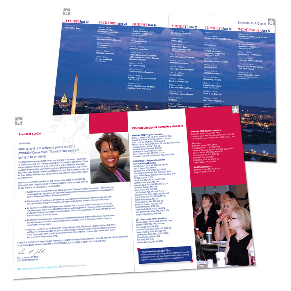 2012 Convention Program Interiors