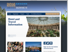 2016 AWHONN Convention Website